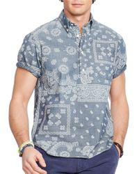Polo Ralph Lauren | Red Polo Ralph Lauren Custom Fit Multi Check Shirt for Men | Lyst