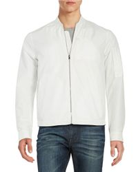 Plac | White Lightweight Track Jacket for Men | Lyst