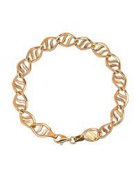 Lord & Taylor | Metallic 14k Yellow Gold Twist Bracelet | Lyst