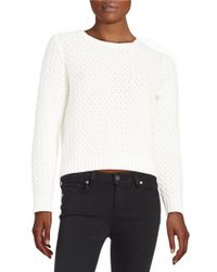Lord & Taylor | Multicolor Knit Crewneck Sweater | Lyst