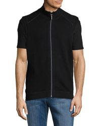 Tommy Bahama - Black Classic Reversible Vest for Men - Lyst