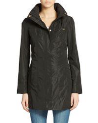 Ellen Tracy - Black Petite Packable Rain Jacket - Lyst