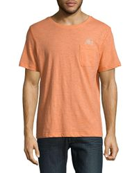 Surfside Supply - Orange Logo Graphic Cotton Tee for Men - Lyst