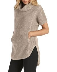 Ugg - Gray Knit Tunic Top - Lyst