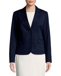 Jones New York - Blue Tailored Blazer - Lyst