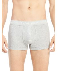 Calvin Klein - Gray Body Low Rise Boxer Briefs for Men - Lyst