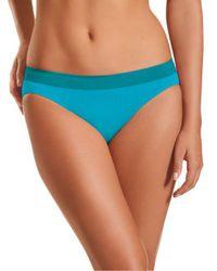 Jockey - Blue Modern Micro Seamfree Bikini - Lyst