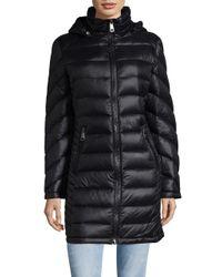 Calvin Klein - Black Petite Zippered Mockneck Jacket - Lyst