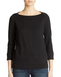 Lord & Taylor - Black Lounge Top - Lyst