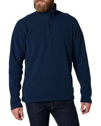 Helly Hansen - Blue Daybreaker Half Zip Fleece for Men - Lyst