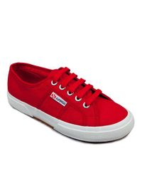 Superga - Red Cotu Classic Sneakers - Lyst