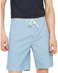 Mango | Blue Drawstring Bermuda Shorts for Men | Lyst
