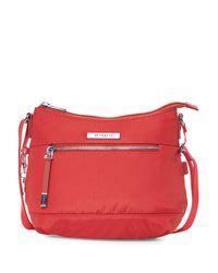 Hedgren - Red Gleam Small Crossbody Bag - Lyst