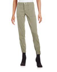 Joe's Jeans - Green Edita Flight Zip Pants - Lyst