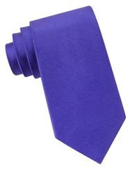 Michael Kors - Blue Sapphire Silk Tie for Men - Lyst