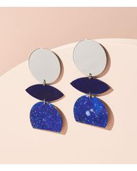 Lou & Grey - Metallic We Dream In Colour Orchid Splatter Earrings - Lyst