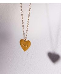 Lou & Grey - Metallic Seoul Little My Heart Belongs To Tacos Necklace - Lyst