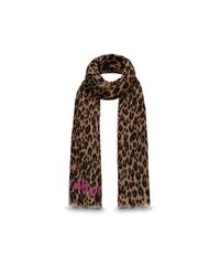 Louis Vuitton | Brown Leopard Stole | Lyst
