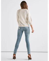 Lucky Brand - Blue Stitch Pullover - Lyst