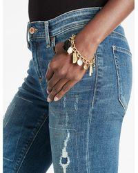 Lucky Brand - Metallic Pom Pom Charm Bracelet - Lyst