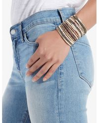 Lucky Brand - Multicolor Leather Layer Bracelet - Lyst
