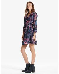 Lucky Brand - Blue Anaelisa Dress - Lyst