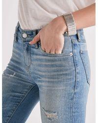 Lucky Brand - Metallic Silver Link Bracelet - Lyst