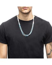 Lulu Frost - Blue George Frost G. Frost Divide And Conquer Morse Necklace - Lyst