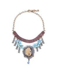 Lulu Frost - Blue *vintage* 100 Year Necklace #4 - Lyst