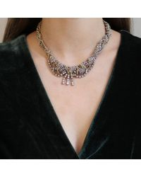 Lulu Frost - Metallic Mezze Necklace - Lyst