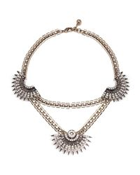 Lulu Frost - Metallic Beacon Necklace - Lyst