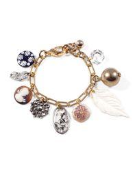 Lulu Frost - Metallic *vintage* Charm Bracelet #3 - Lyst
