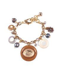 Lulu Frost - Metallic Vintage Charm Bracelet 14 - Lyst