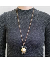 Lulu Frost - Blue *vintage* One Point Long Pendant Necklace - Lyst