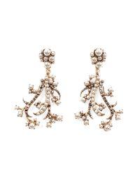 Lulu Frost - Metallic Satine Earrings - Lyst