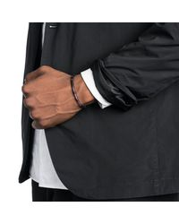 Lulu Frost | Black George Frost Stretch Morse Bracelet - Love for Men | Lyst