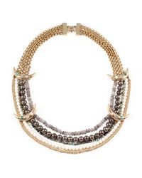Lulu Frost - Metallic Andalusia Necklace - Lyst