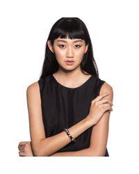 Lulu Frost - Multicolor Garnet Velvet + Grey Pearl Bracelet - Lyst
