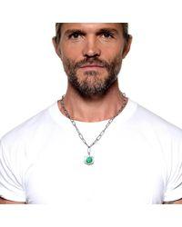 Lulu Frost - Metallic George Frost G. Frost Bullet Shield Necklace for Men - Lyst