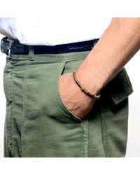 Lulu Frost - Metallic George Frost G. Frost Morse Bracelet - Trust for Men - Lyst