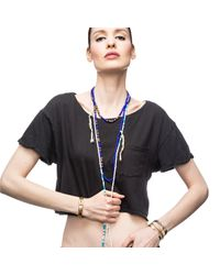 Lulu Frost - Blue G. Frost Divide And Conquer Morse Necklace - Lyst