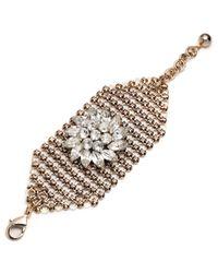 Lulu Frost | Metallic Mesh Bracelet - Gold | Lyst