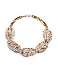 Lulu Frost - Metallic Goldtone Drift Statement Necklace - Lyst