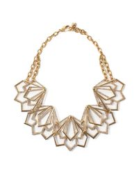 Lulu Frost | Metallic Portico Statement Necklace | Lyst