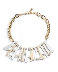 Lulu Frost | Metallic Dauphine Necklace | Lyst