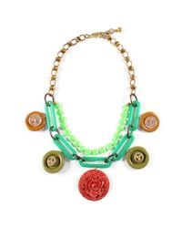 Lulu Frost - Metallic *vintage* One-of-a-kind Necklace 5 - Lyst