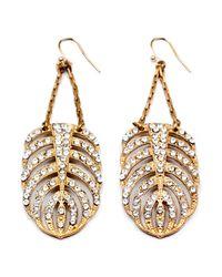 Lulu Frost - Metallic Goldtone Drift Earring - Large - Lyst