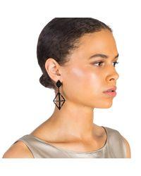 Lulu Frost - Helena Black Earring - Lyst