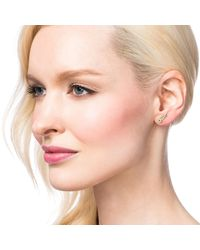 Lulu Frost - Multicolor Code Wing Earring 18k Gold - Lyst