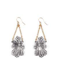 Lulu Frost - Multicolor Camellia Wire Earrings - Lyst